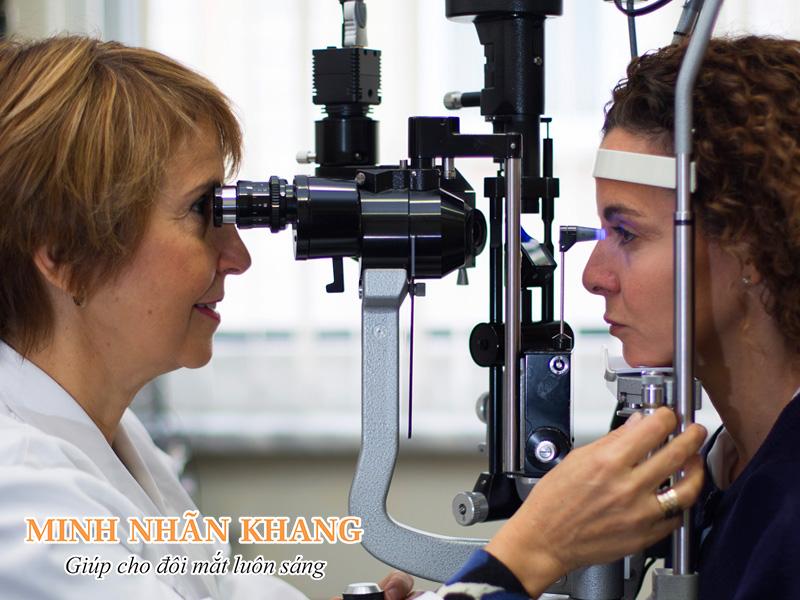 Đo áp lực nội nhãn chẩn đoán Glaucoma